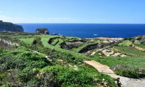 Zdjecie MALTA / wyspa Gozo / zachodnie wybrzeże / Zachodnie wybrzeże wyspy Gozo