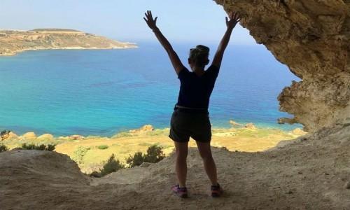 Zdjecie MALTA / Gozo / Tal-Mixta Cave / Gozo