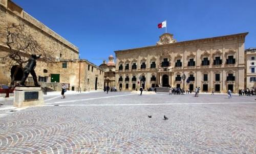 Zdjecie MALTA / Valletta / . / Castille Palace