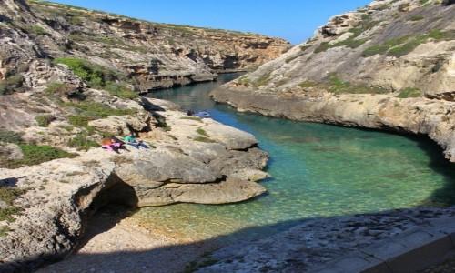 Zdjęcie MALTA / Gozo / Wied il-Ghasri / Zatoczka