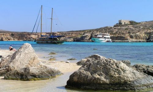 Zdjęcie MALTA / comino / comino / blue lagoon
