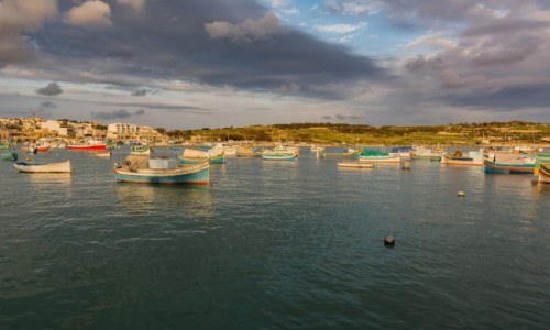 Zdjęcie MALTA / . / Marsaxlokk / Port