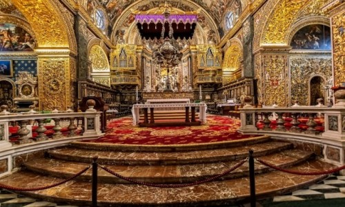 Zdjęcie MALTA / . / Valletta / Katedra św Jana