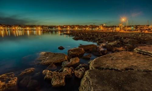 Zdjęcie MALTA / . / Marsaxlokk / nocą
