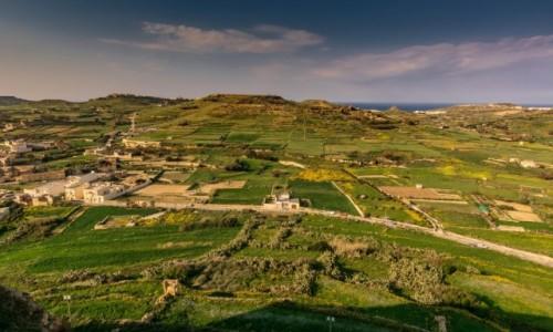 Zdjęcie MALTA / Gozo / Victoria /  Widok z Cytadeli