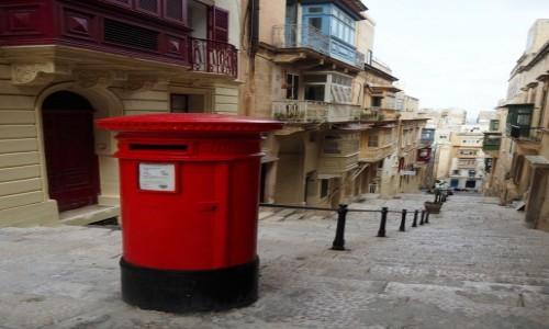 Zdjecie MALTA / Malta / Valletta / Uliczka w stolicy