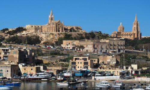 Zdjecie MALTA / Malta / Gozo / Dopływając na Gozo