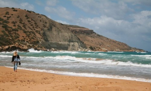 Zdjecie MALTA / Gozo / Ramla Bay / Ramla Bay