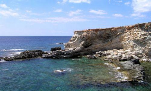 Zdjęcie MALTA / malta / pod Hagar Qim / dzikie wybrzeże 2