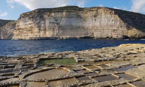 Zdjecie MALTA / Gozo / Nad zatoką Xlendi / Zatoczka