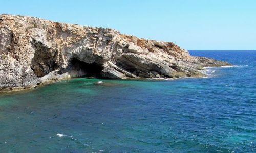 Zdjęcie MALTA / malta / pod Hagar Qim / dzikie wybrzeże 3