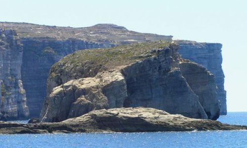 Zdjęcie MALTA / malta / Gozo / skała grzyba