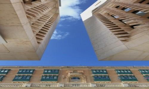 Zdjecie MALTA / Valletta / Parliament of Malta / pomiędzy...