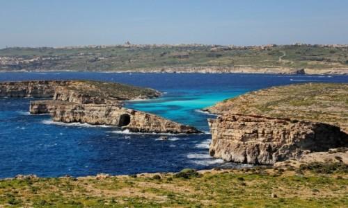 Zdjecie MALTA / Comino / Blue Lagoon / Back to lagoon...