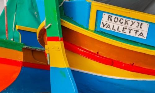 MALTA / . / . / Kolorowe łodzie