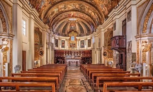 Zdjecie MALTA / . / Valletta / Kościół Matki Bożej Zwycięskiej