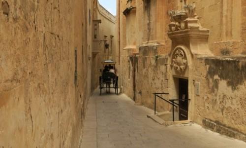 MALTA / Rabat / Mdina / Uliczka