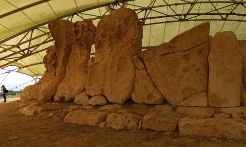 Zdjecie MALTA / ... / Hagar Qim / Megalityczna świątynia
