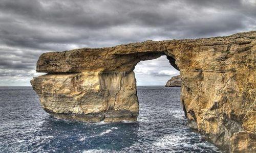 Zdjecie MALTA / wyspa Gozo / Dwejra Point / Lazurowe Okno