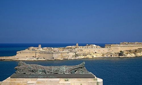 Zdjęcie MALTA / Valetta / Grand Harbour / Grand Harbour