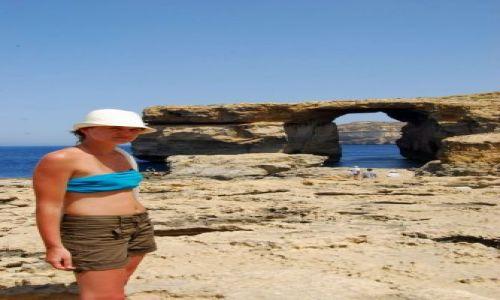 Zdjecie MALTA / Gozo / Blue window / Poznajmy się