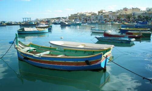 MALTA / Malta / Marsaxlokk / Marsaxlokk - nabrzeże rybaków