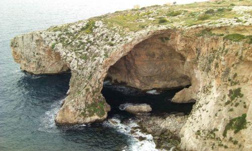 MALTA / Malta / południe Malty / Blue Grotto