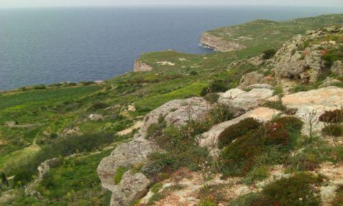 MALTA / Malta / południowe kliwy / krajobraz maltański