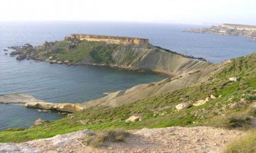 Zdjecie MALTA / zachodnia cz�� Malty / wysepka / Gnejna -Bay