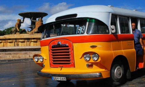 Zdjecie MALTA / - / Valletta / Urok starych autobusów :)