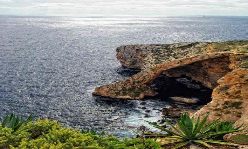Zdjecie MALTA / - / Gozo / Blue Grotto
