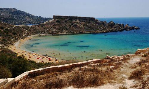 Zdjęcie MALTA / - / Malta / zatoka Golden Bay