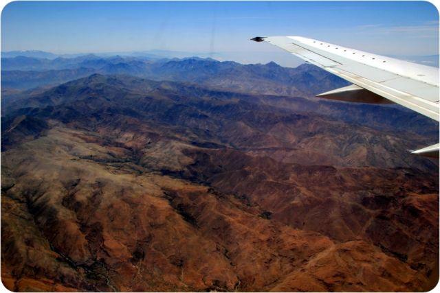 Zdjęcia: Góry Atlas, Góry Atlas z samolotu, MAROKO