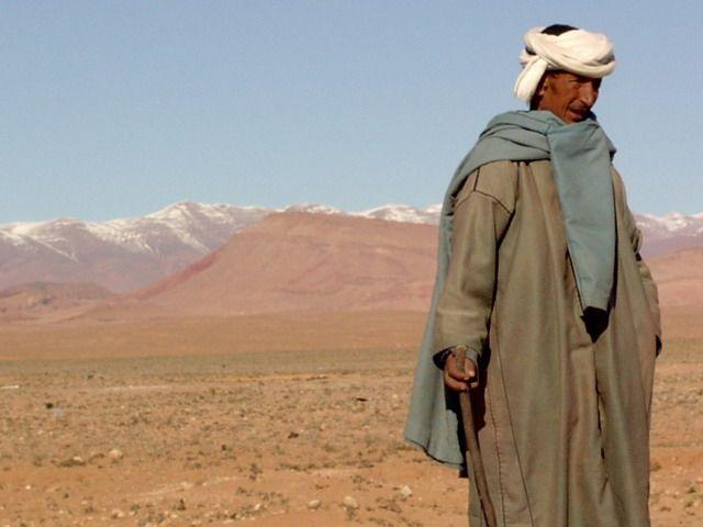 Zdj�cia: pustynia kam, marocco, gdzie sa moje wielblady, MAROKO