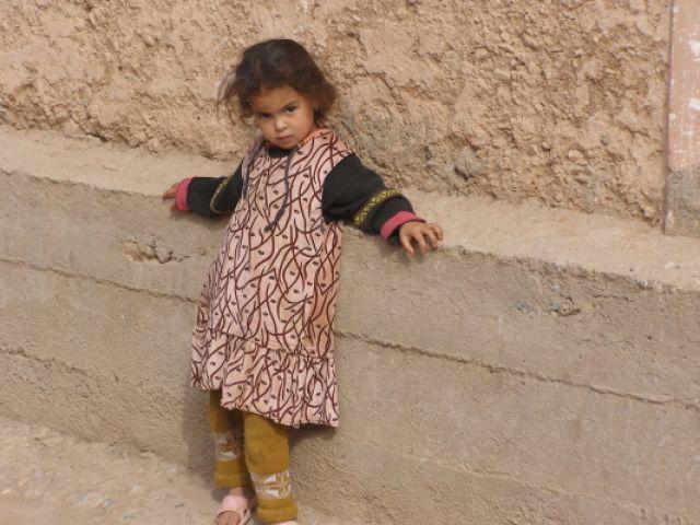 Zdjęcia: Mała modelka, MAROKO