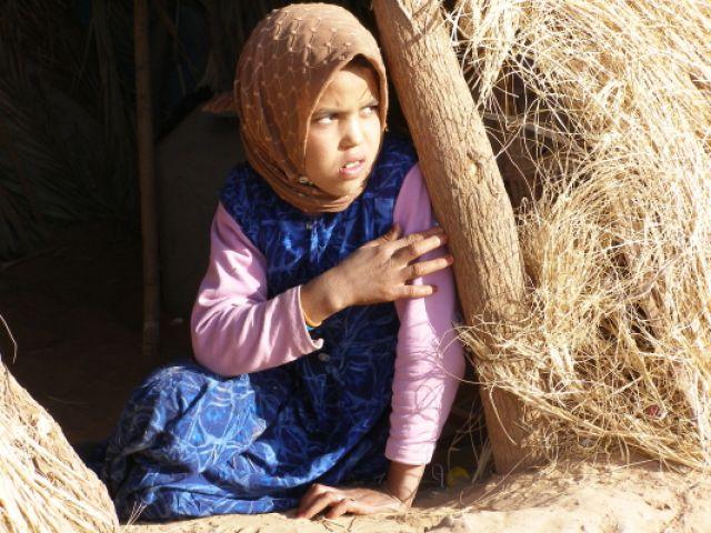 Zdj�cia: w berberyjskiej wiosce, MAROKO