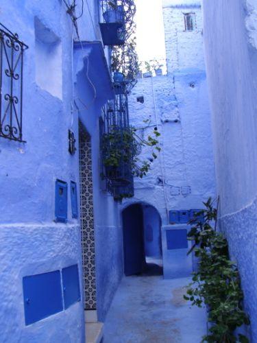 Zdjęcia: Niebieski dziedziniec, MAROKO