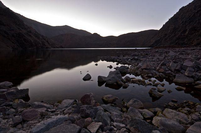 Zdjęcia: jezioro d'ifni, Atlas Wysoki, jezioro D'Ifni, MAROKO