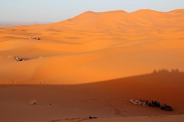 Zdjęcia: okolice ERDFOUD, południowo-wschodni kraniec Tafilant, Sahara #12, godz. 19:32., MAROKO