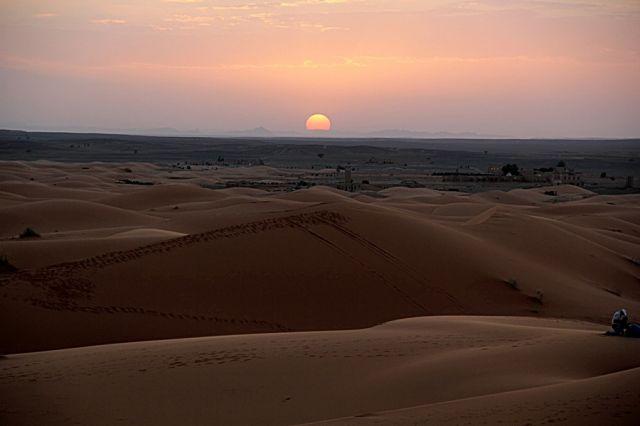 Zdjęcia: okolice Erfoud_Sahara, południowo-wschodni kraniec Tafilant, Zachód #3, MAROKO