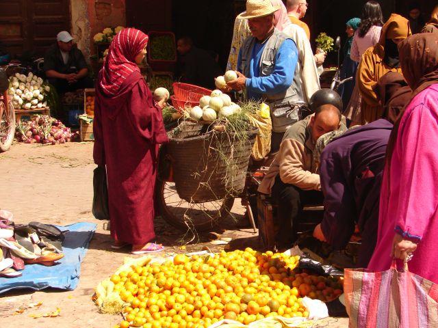 Zdjęcia: Marrakech medyna, na suku, MAROKO
