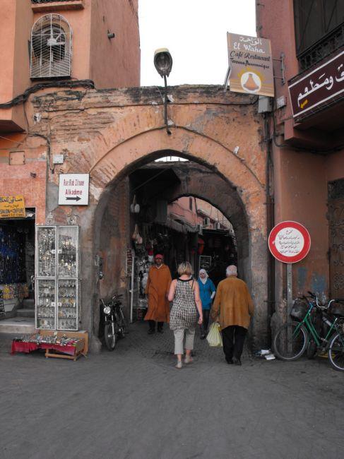 Zdjęcia: Medina, Marakesz, zaułki Marakeszu, MAROKO