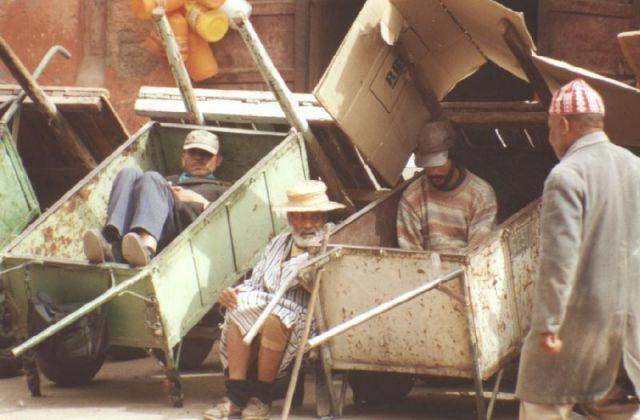 Zdjęcia: Marakesz, Uliczni sprzedawcy, MAROKO