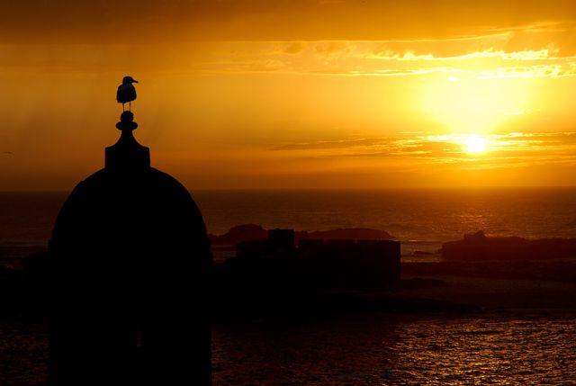 Zdjęcia: Essaouira, Maroko, Zachodzik...., MAROKO