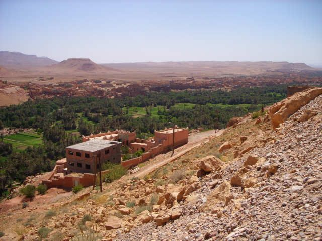 Zdj�cia: todra, maroko, miasto, MAROKO