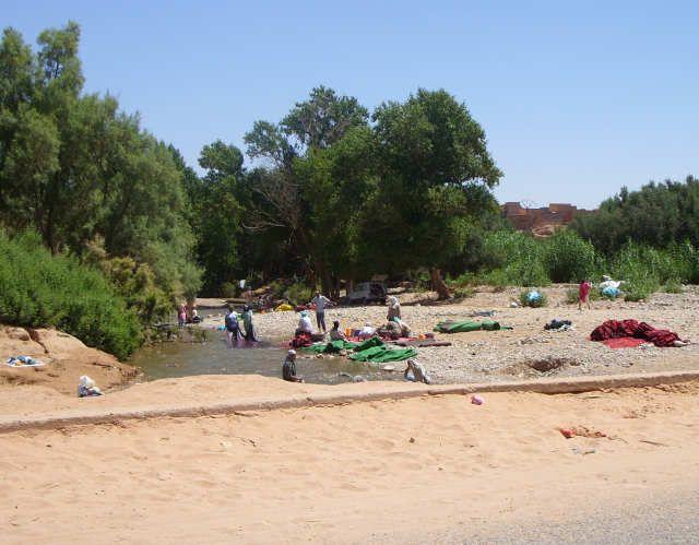 Zdj�cia: todra, maroko, pralnia, MAROKO