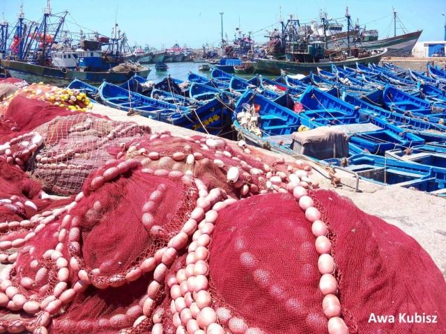 Zdjęcia: Essaouira, Południe, Essaouira - port rybacki, MAROKO
