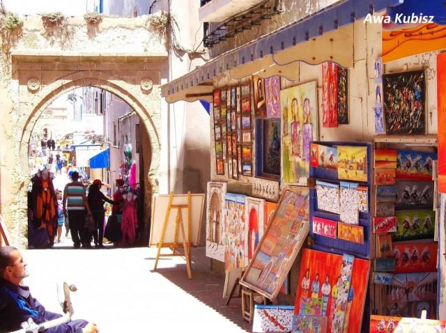 Zdjęcia: Essaouira, Południe, Essaouira - kolory suku, MAROKO