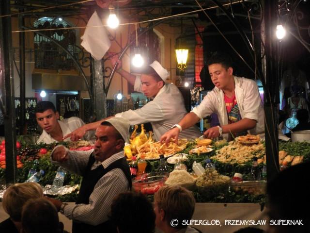 Zdjęcia: Marrakesz, Marrakesz, Dżemma el-Fna 2, MAROKO
