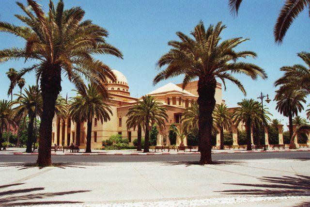 Zdjęcia: Marrakech, Opera w Marrakechu, MAROKO